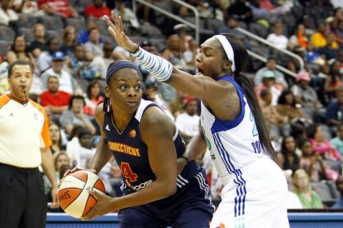 WNBA_2012_Danielle McCRAY (Connecticut)_US Presswire