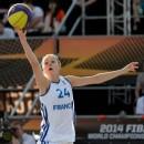 Mondial 3×3 2014 : Les Bleues passent en huitièmes de finale