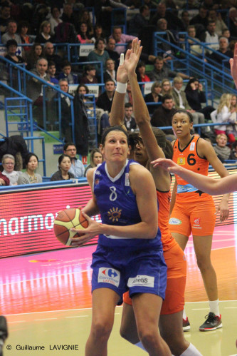 LFB_2013-2014_Helena CIAK (Montpellier)_Guillaume LAVIGNIE