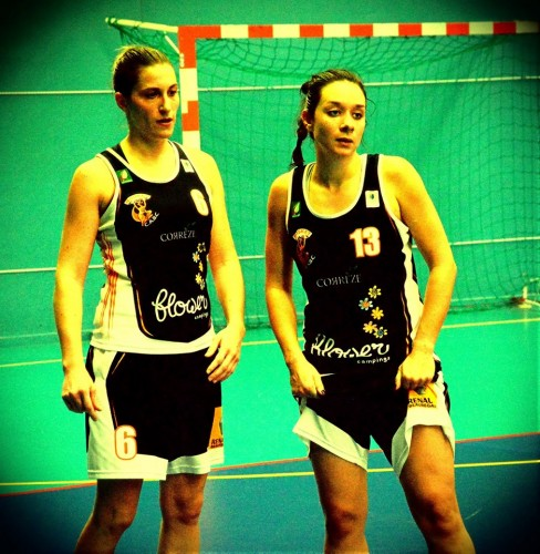 NF1_2013-2014_Maryne REOLID & Léonore DUCHEZ (Brive)_Philippe GONIN