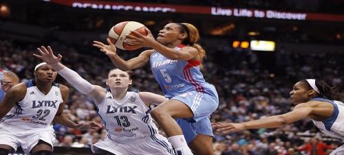 WNBA_2013_Jasmine THOMAS (Minnesota)_Stacy BENGS