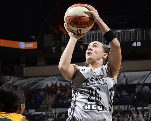 Becky HAMMON WNBA