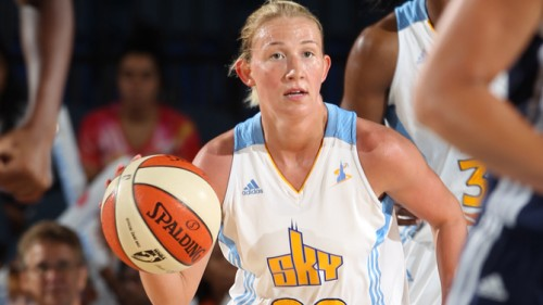 Courtney VANDERSLOOT WNBA