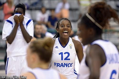 Désirée Grâce Marcelle BAKABADIO FIBA Europe