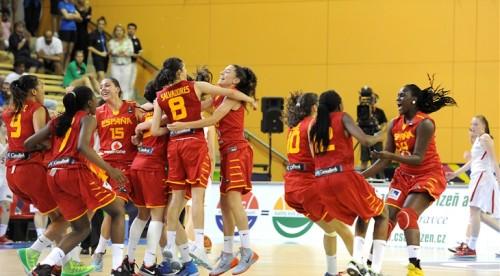 Espagne U17 FIBA