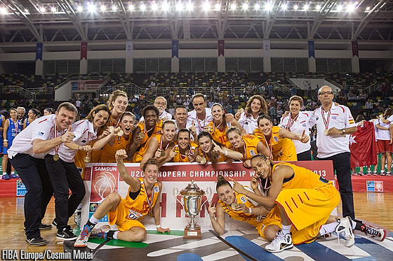 Euro U20 2014 Espagne 2013
