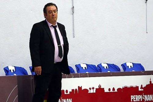 Ligue 2_2013-2014_Hervé REGIOR (Perpignan)_Michel CLEMENTZ