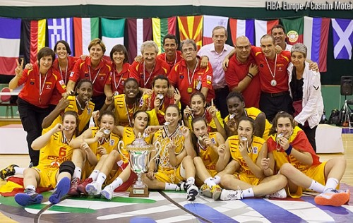 U16 Espagne 2013 FIBA Europe