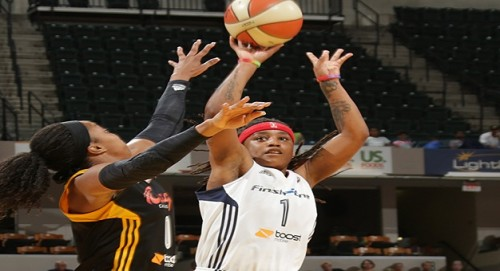WNBA_2014_Shavonte ZELLOUS (Indiana) vs. Tulsa_Ron HOSKINS