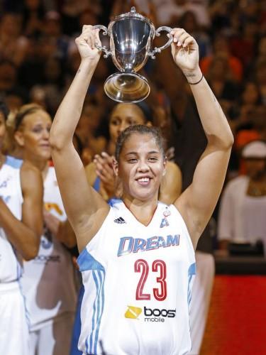WNBA_2014_Shoni SCHIMMEL MVP All-Star Game_David KADLUBOWSKI