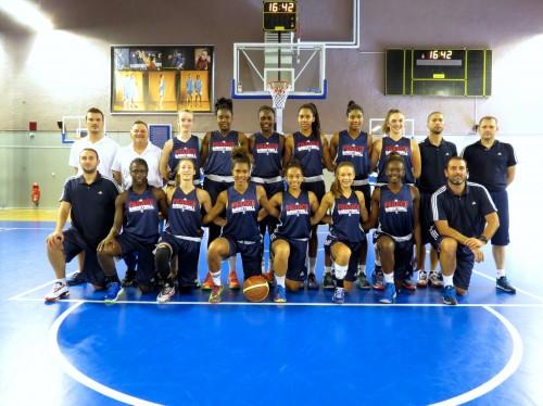 Equipe de France u15 2014_ffbb