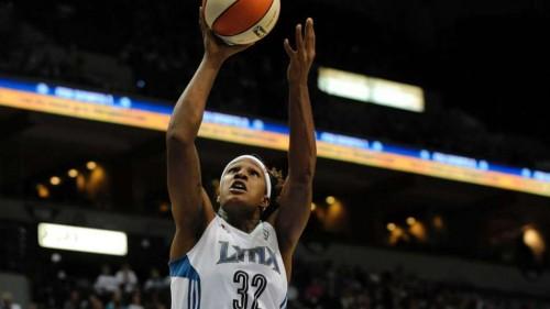 WNBA_2013_Rebekkah BRUNSON (Minnesota)_Marilyn INDAHL