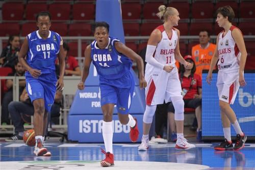 Biélorussie-Cuba FIBA