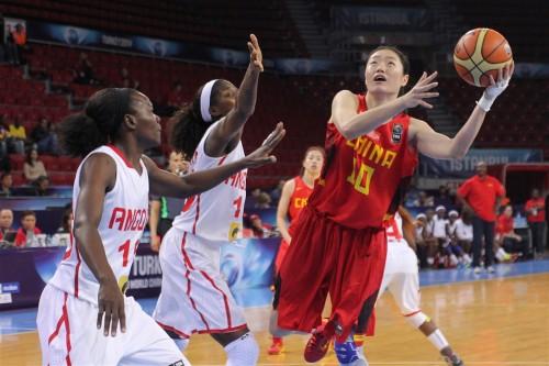 Chine-Angola FIBA