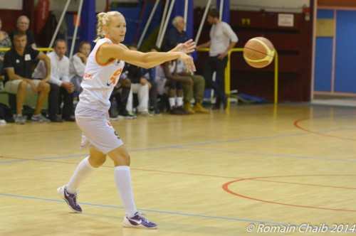 Ligue 2 1415 - Adriana GRESNEROVA (Le Havre) - Romain CHAIB