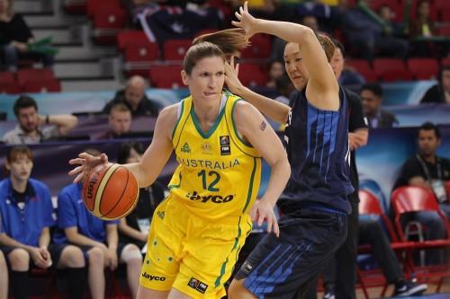 Mondial 2014_Belinda SNELL (Australie) vs. Corée du Sud_FIBA