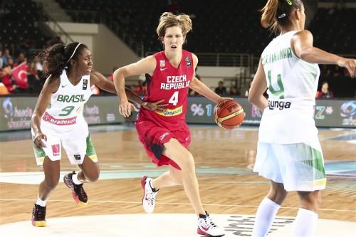 Mondial 2014_Jana VESELA (Rép. Tchèque) vs. Brésil_FIBA