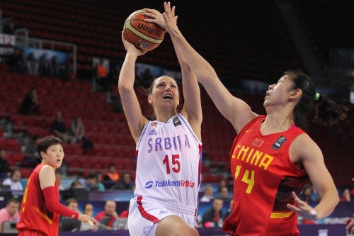 Mondial 2014_Jovana RAD (Serbie) vs. Chine)_FIBA