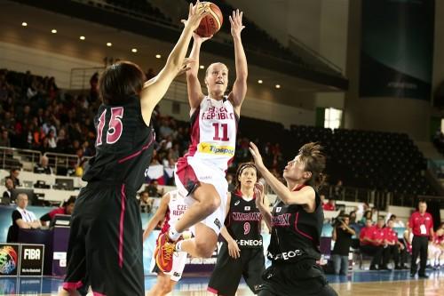 Mondial 2014_Katerina ELHOTOVA (Rép. Tchèque) vs. Japon_FIBA