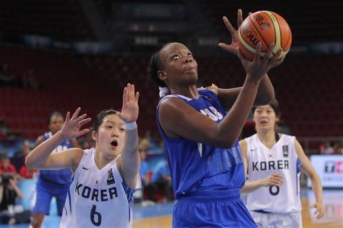 Mondial 2014_Marlen CEPEDA (Cuba) vs. Corée du Sud_FIBA