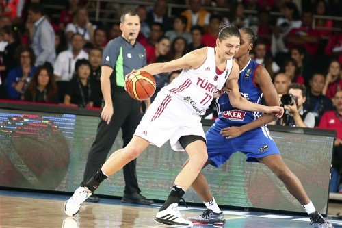 Mondial 2014_Nevriye YILMAZ (Turquie) vs. France_FIBA