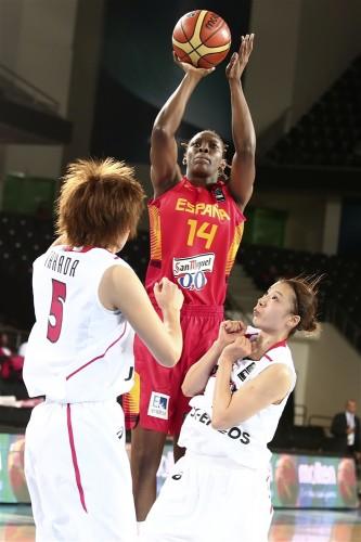 Mondial 2014_Sancho LYTTLE (Espagne) vs. Japon_FIBA