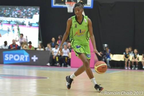 LFB_2013-2014_Adja KONTEH (Hainaut Basket)_Romain CHAIB