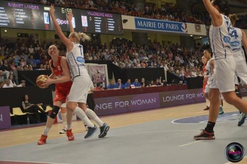 LFB_2014-2015_Ann WAUTERS 2 (Villeneuve d'Ascq) vs. Basket Landes_Laury MAHE
