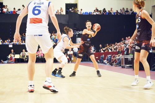LFB_2014-2015_Céline DUMERC (Bourges) vs. Montpellier_Laury MAHE