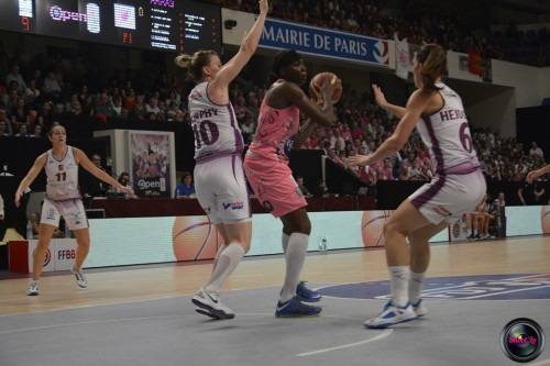LFB_2014-2015_Djéné DIAWARA 6 (Arras) vs. Angers_Laury MAHE