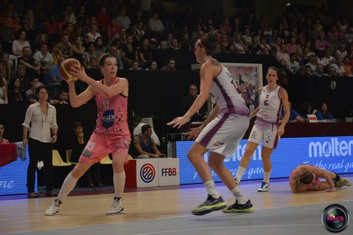LFB_2014-2015_Michelle PLOUFFE 5 (Arras) vs. Angers_Laury MAHE