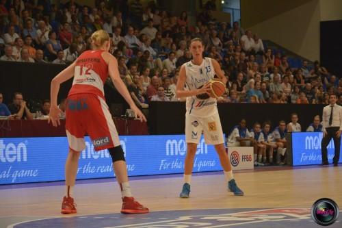 LFB_2014-2015_Naura EL GARGATI 1 (Basket Landes) vs. Villeneuve d'Ascq_Laury MAHE