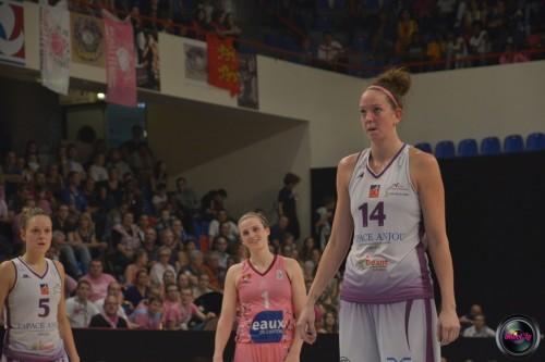 LFB_2014-2015_Rebecca TOBIN 8 (Angers) vs. Arras_Laury MAHE