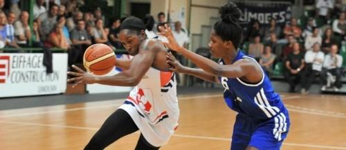 Ligue 2 1415 - Krystal Vaughn (Limoges) - Centre France