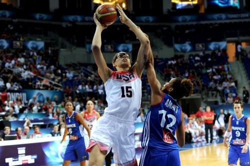Mondial 2014_Brittney GRINER (Etats-Unis) vs. France_FIBA