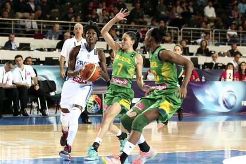 Mondial 2014_Emilie GOMIS (France) vs. Brésil_FIBA