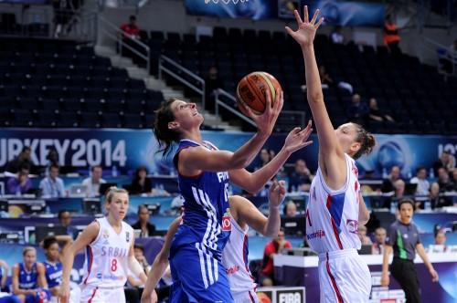 Mondial 2014_Helena CIAK (France) vs. Serbie_FIBA
