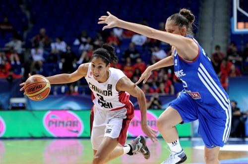 Mondial 2014_Miranda AYIM (Canada) vs. France_FIBA