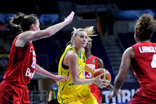 Mondial 2014_Penny TAYLOR (Australie) vs. Canada_FIBA