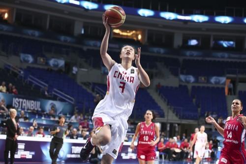 Mondial 2014_Ting SHAO (Chine) vs. Serbie_FIBA