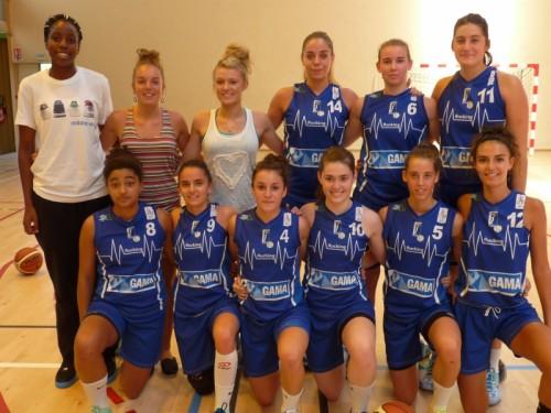 Basket Landes espoirs_2014-2015