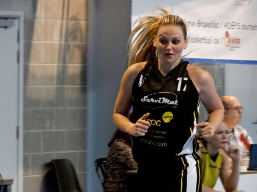 Belgique_2014-2015_Adrijana VASOVIC (Fleurus)_basketinbelgium.com