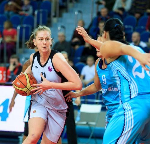 Eurocoupe_2014-2015_Emma MEESSEMAN (S. Moscou R.) vs. Mersin_Youlia FEDOSSEEVA