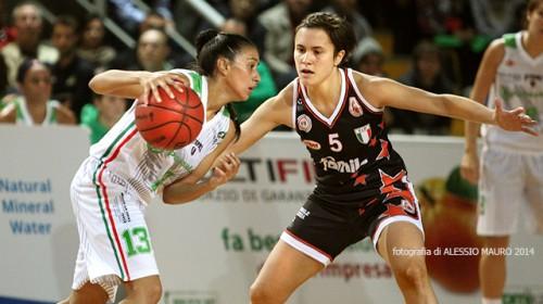 Italie_2014-2015_Debora GONZALEZ (Ragusa) vs. Schio_Alessio MAURO