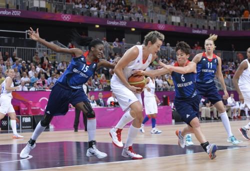 Jeux Olympiques 2012 Phase de poule France-Grande Bretagne