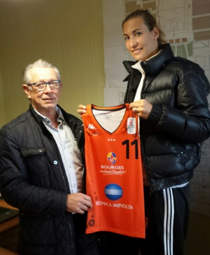 LFB_2014-2015_Pauline LO & Pierre FOSSET (Bourges)_tangobourgesbasket.com