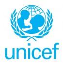 Céline DUMERC dans la Team UNICEF avec d'autres sportifs français