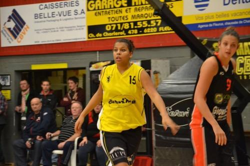 Belgique_2014-2015_Lisa MUKEBA (Fleurus) vs. Willebroek_CEP Fleurus