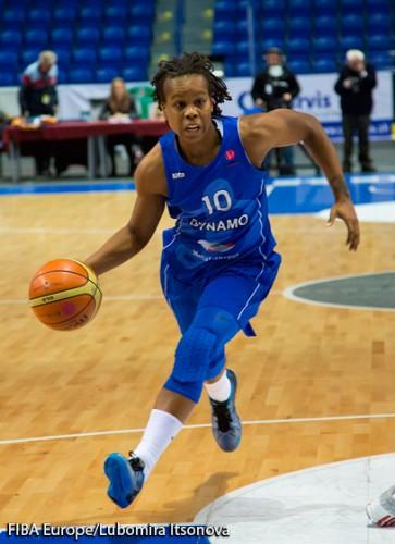 Epiphanny PRINCE FIBA Europe Lubomira ITSONOVA
