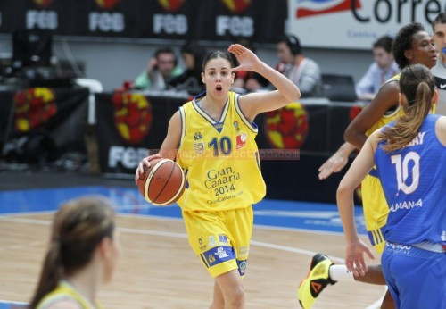 Espagne_2014-2015_Yurena DIAZ (Gran Canaria) vs. Salamanque_The Wang Connection